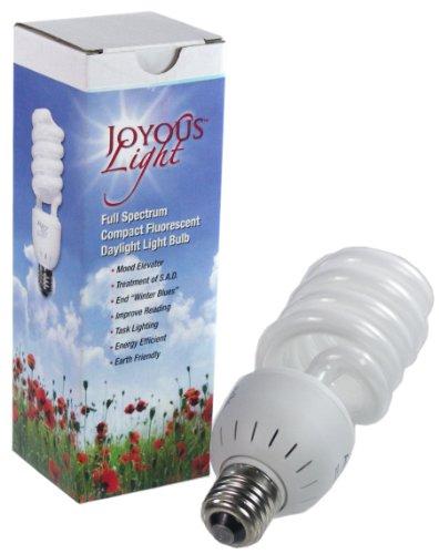 ALZO 27W Joyous Light Full Spectrum CFL Light Bulb 5500K, 13