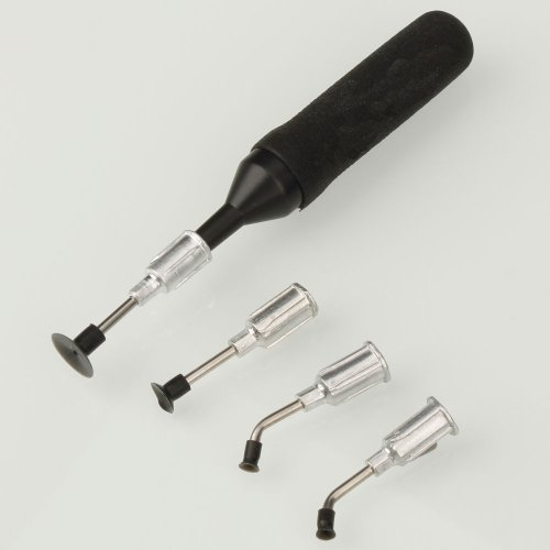 MicroMall(TM) IC Pick Up Vacuum Sucking Pen with 4 Suction Headers (Ic Suction compare prices)