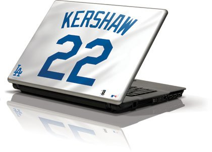 mlb-player-jerseys-los-angeles-dodgers-22-clayton-kershaw-generic-12in-laptop-106in-x-83in-skinit-sk