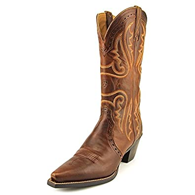Ariat Womens Heritage Western X-Toe Boot, Vintage Caramel, 6 B US