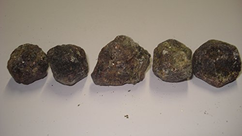 (#3) 5Pc Garnet From Russia Large Raw Rough 100% Natural Crystal Gemstone Specimen