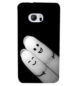 PRINTSHOPPII LOVE CUTE Back Case Cover for HTC One M10