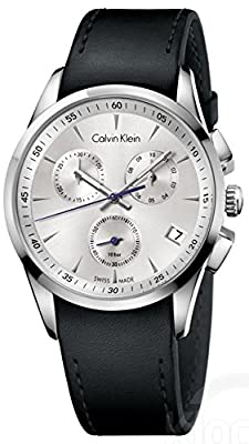 Calvin Klein K5A271C6 Watch Bold Mens - Silver Dial Quartz Movement