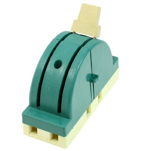 Ac 250V 63A 2 Pole Double Throw Circuit Control Knife Disconnect Switch Green