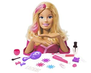 Amazon Com Barbie Deluxe Styling Head Doll Playset Toys