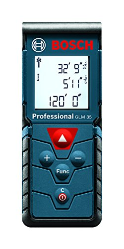 Bosch GLM 35 Laser Measure, 120-Feet (Digital Measuring Device compare prices)