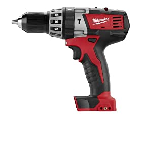 Bare-Tool Milwaukee 2602-20 M18 18-Volt Cordless 1/2-Inch Hammer Drill/Driver (Tool Only, No Battery)