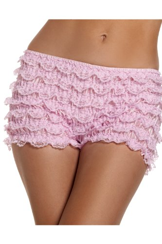 Be Wicked Costumes STRETCH RUFFLE SHORTS