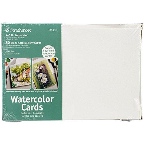 "Strathmore Cards and Envelopes, 5"" x 7"", 50pk"