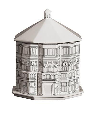 Seletti Battistero Palace Set of 6 Cups, 1 Milk Jug, 1 Sugar Bowl, 1 Tray & 1 Biscuit Jar, White