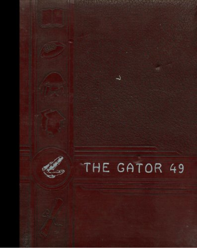 (Color Reprint) 1949 Yearbook: Bushnell High School, Bushnell, Florida