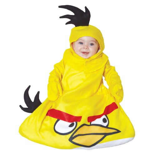 Rovio Angry Birds Cosplay Bunting Infant Suit Yellow One Size