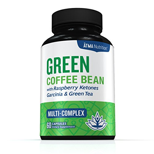 Premium Pure Blend - Green Coffee Bean Extract, Raspberry Ketones Complex, Garcinia Cambogia, & Green Tea - Highest Grade, Physician Recommended - 4 Top Weight Loss Ingredients in One Supplement (Coffee Bean Extract Highest Grade compare prices)