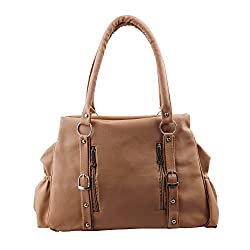 Relevant Yield Women's Shoulder Bag Beige (BEIGE-0014)