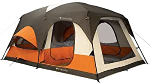 Columbia Cougar Flats II 15-Foot by 10-Foot 8 Person 2 Room Family Cabin Dome Tent