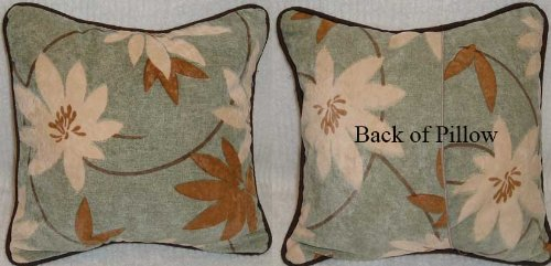 Moda Greenleaf Floral Pillow