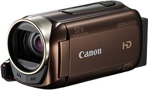 Canon Legria HFR56 Caméscope Ecran 3'' (7,5 cm) HD Port SD/SDHC 3,2 Mpix Zoom optique 32x Wi-Fi Mémoire Flash intégré 8 Go Marron