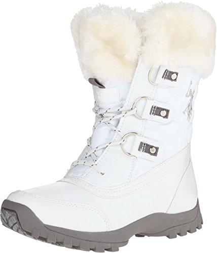 U.S. Polo Assn.(Women's) Artic Boot, White, 7.5 M US