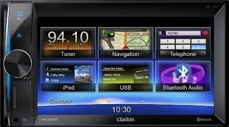 Clarion-NX302E-Navigationssystem-62-Zoll-Displaystarrer-Monitor-169Kontinent
