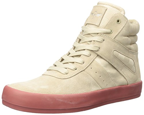 Creative Recreation Men's Moretti Fashion Sneaker, Khaki Marsala Black, 10.5 M US