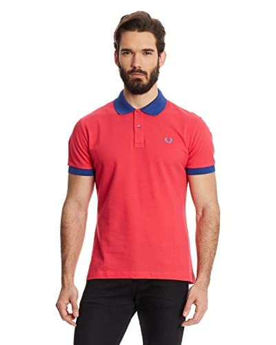 Fred Perry Polo [Rosso/Blu]