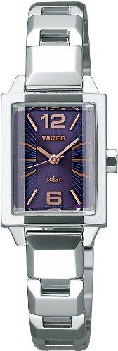 WIRED f (ワイアード エフ) 腕時計 SWEET SOLAR COLLECTION (スウィート ソーラー コレクション) エコテックソーラー 秒針つき AGED012 レディース