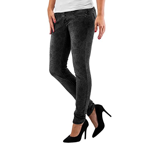 Authentic Style Donna Jeans / Jeans slim fit Roses
