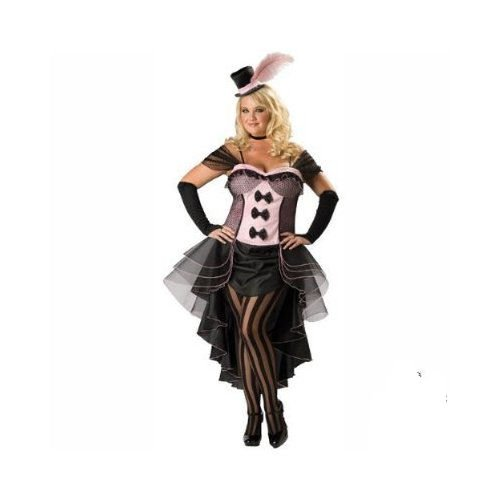 PLUS SIZE In Character Deluxe Burlesque Babe Costume