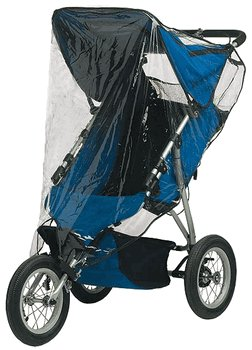 Jolly Jumper Single Jogging Stroller Weathershield
