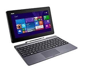 "ASUS Transformer Book 10.1"" Detachable 2-in-1 Touch Laptop, 64GB With 500GB Keyboard Dock - Black (Certified Refurbished)"