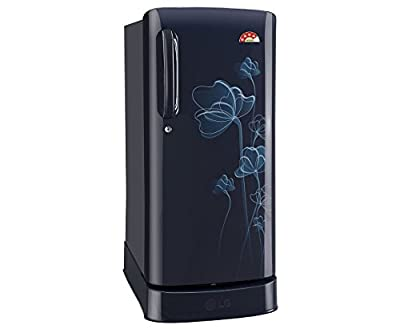 LG GL-D201AMHL.AMHZEBN Direct-cool Single-door Refrigerator (190 Ltrs, 4 Star Rating, Marine Heart)