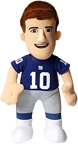 NFL New York Giants Eli Manning Player Plush Doll, 6.5-Inch x 3.5-Inch x 10-Inch, Blue (Nyg Football compare prices)