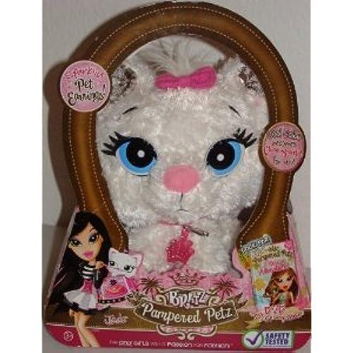 Bratz (  즈 ) Pampered Petz Jade's White Kitty Pet 돌 인형 피규어(병행수입)-