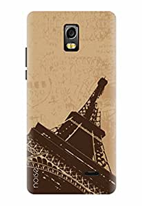 Noise Designer Printed Case / Cover for Lyf Water 10 / Patterns & Ethnic / Eiffel Design