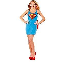 DC Supergirl Tank Dress Ladies Costume