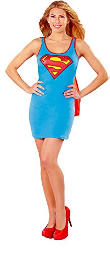 DC Supergirl Tank Dress Ladies Costume