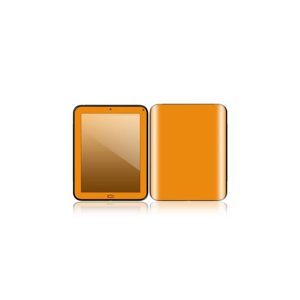 Simply Orange Design Decorative Skin Cover Decal Sticker for HP TouchPad 9.7 inch Tablet