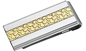 Men's Designer Steel Money Clip