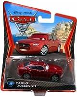 Disney Pixar Cars 2 - Carlo Maserati # 25 - V?hicule Miniature - Voiture