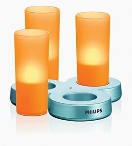 Philips imageo orange candle lights kitchen for Kitchen spotlights amazon
