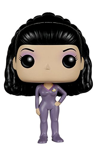 Funko POP TV: Star Trek The Next Generation - Deanna Troi Action Figure - 1