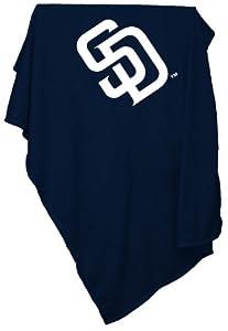 MLB San Diego Padres Sweatshirt Tackle Twill Blanket by Logo