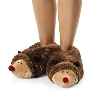 Nici Hetch Hogan the Hedgehog Kids Slippers Kids 10 - 12