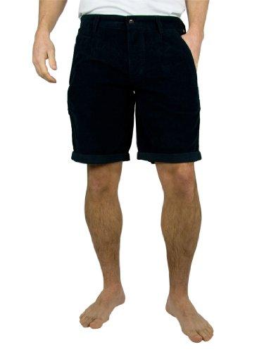 Farah Vintage Navy Albany Cord Shorts