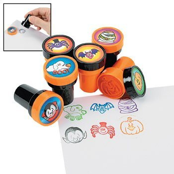 Fun Express Halloween Stamps - 48 per unit Science Kit by Fun Express