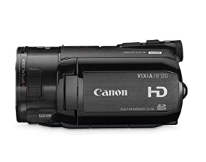 Canon VIXIA HFS10 HD Dual Flash Memory w/32GB Internal Memory & 10x Optical Zoom - 2009 MODEL