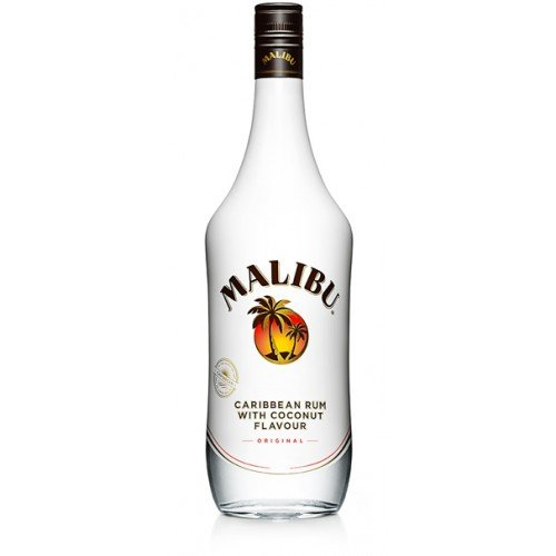Malibu discount duty free MALIBU Coconut Liqueur Miniature 5cl Miniature