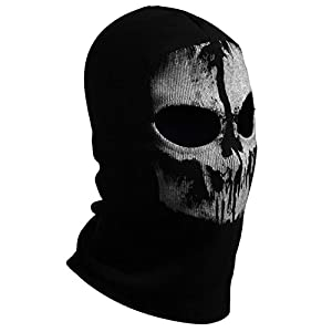 Hakkin Ghosts Skull Mask Full Face Cosplay Balaclava Paintball Outdoor Hood from Guangzhou Guoke e-commerce Co.,Ltd