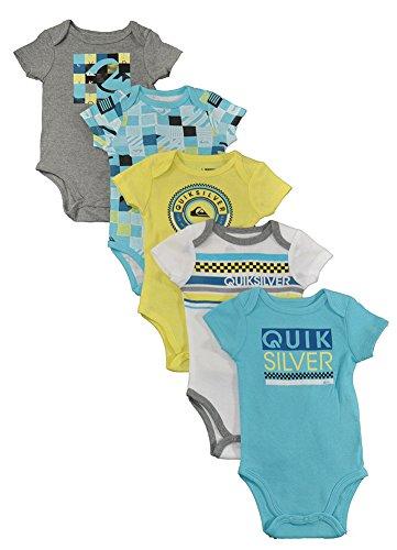quiksilver-boys-5-pack-bodysuit-lemon-gray-3-6-months