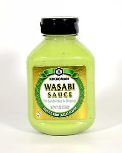 Kikkoman Wasabi Sauce (1 Bottle) 9.25-oz